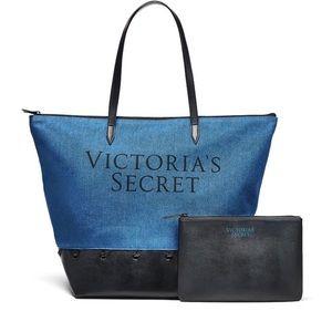 Victoria's Secret Carryall & Mini Bag Tote